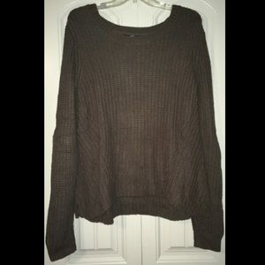 Olive green slouchy sweater!